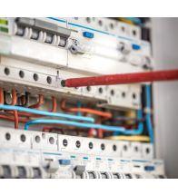 Afwerking elektrische installatie