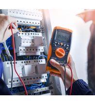 Voorbereiding elektrische keuring