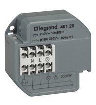 Legrand - Telerupteur 1P 10A 230V - 049120