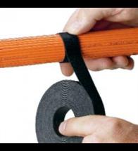 Panduit - Velcro 19X4572 zwart rol p/st - HLS-15R0