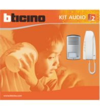 Bticino - Kit 2-DRAADS opbouw LINEA2000 - 363811