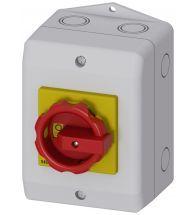 Siemens - Hoofdschakelaar 25A 4P rood - 3LD2164-1TC53