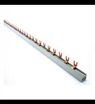 Kamgeleider geisoleerd met vork 4POLIG 10MM 56MODULES - F4P56M