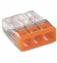 Wago - Connect 3X0,5-2,5MM½ orange - 2273-203