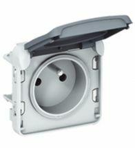 Legrand Plexo stopcontact 2P+A 10/16A met schroefklemmen - 069552