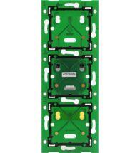 Niko Home Control drievoudige verticale muurprint 60mm - 550-14031