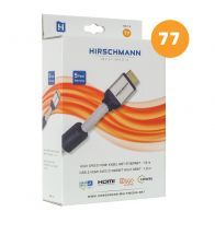 Hirschmann - Hdmi 1.4 kabel 1,8M - 695020368