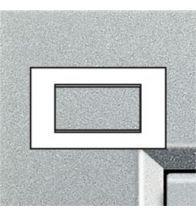 Bticino - Ll afdekplaat rechthoekig 4 modules tech - LNA4804TE