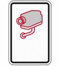 Sefica - Sticker camerabewaking 10X15CM nl - CCTVPICTO5-V-BL