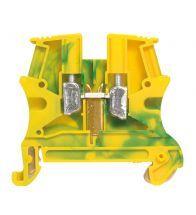 Legrand - Railklem 4MM groen/geel - 037171