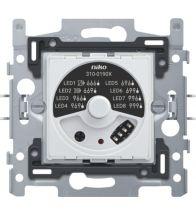Niko - Socle variateur universel bouton rotatif 5-325W 3-FILS - 310-01900