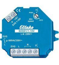Eltako - Interrupteur dim 1-10V encastre - SDS61/1-10V