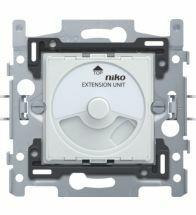 Niko - Socle extension variateur universel bouton rotatif 3-FILS - 310-02000