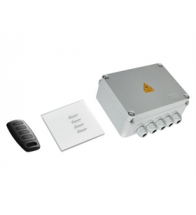 Teleco - Kit gardenpro 4 set met afstandsbediende schakeling voor 4 aansluitingen - GARDENPRO4