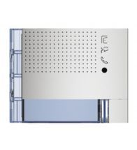 Bticino - Frontplaat voor 351100 1 drukknop all metal - 351111