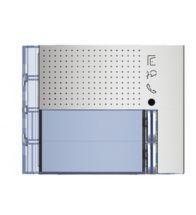 Bticino - Frontplaat voor 351100 2 drukknoppen all metal - 351121