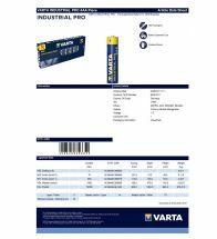 Varta - Alkaline industrial pro aaa LR03 1,5V - 4003.211.111