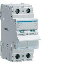 Hager - Modulaire schakelaar 2P 63A 400V - SBN263