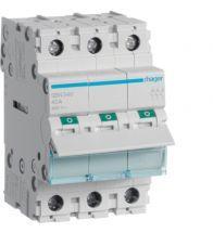 Hager - Modulaire schakelaar 3P 40A 400V - SBN340