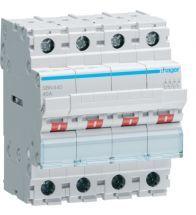 Hager - Modulaire schakelaar 4P 40A 400V - SBN440