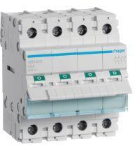 Hager - Modulaire schakelaar 4P 63A 400V - SBN463