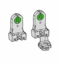 Huppertz - Fitting tl eenv+starterhouder transp - 197/C