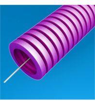 Preflex - 32MM tube vide avec tire-fil vert low smoke par 50M - 1234000282