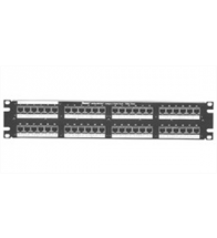 Panduit - Patch panel 24P mini-jack trekon - CP24WSBLY