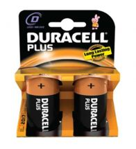 Duracell - Bat plus power 'd' 1,5V l PR/BL2 - LR20.MN1300.2