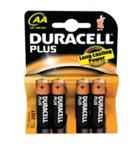Duracell - Bat plus power 'aa' LR6 1,5V PR/BL4 - LR06.MN1500.4