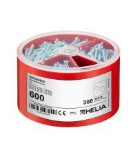 Helia - Pozidriv schroevenbox 3X100ST - 600