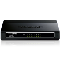 Tech Data - 8 poort gigabit switch 10/100/1000M RJ45 poorten - TL-SG1008D