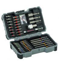 Bosch - Embouts et douilles, coffret de 43 pièces 43PC - 2607017164