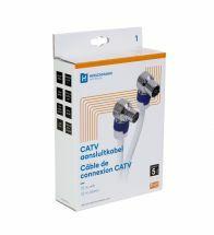 Hirschmann - Catv aansluitkabel 4G/LTE proof 1,5 m met iec conn - 695020509