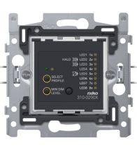 Niko - Socle variateur bouton poussoir universeel 2-DRAADS 3-300W - 310-02900