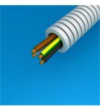 Preflex - 16MM 4G1,5MM² met vob draad blauw+bruin+zwart+geelgroen per 100M - 1234000422