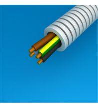Preflex - 16MM 4G2,5MM² met vob draad blauw+bruin+zwart+geelgroen per 100M - 1234000428