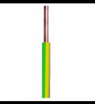 Kabel H07Z1-R (cca) 1X6 geel/groen - H07Z1R1X6VJ(CCA)