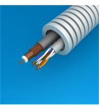 Preflex - 20MM coax telenet/voo cca+utp CAT5E per 100M - 1234001463