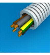 Preflex - 25MM avec fil vob 5G6 bleu+brun+noir+gris+jaunevert par 100M - 1234000940