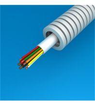 Preflex - 16MM met alarmkabel en voedingsdraad 6X0,22+2X0,75 per 100M - 1234000489