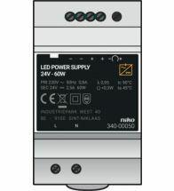 Niko - Alimentation modulaire 24VDC 60W - 340-00050