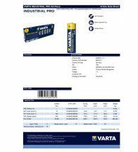 Varta - Alkaline industrial pro aa LR6 1,5V - 4006.211.111