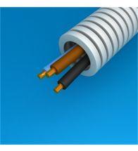 Preflex - 20MM 3G4MM² met vob draad blauw+bruin+geelgroen per 100M - 1234000437