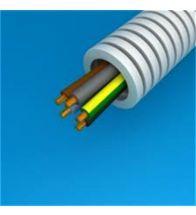 Preflex - 25MM 5G4MM² met vob draad blauw+bruin+zwart+grijs+geelgroen per 100M - 1234000930