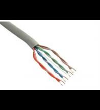 Kabel utp CAT6 mini cross pvc grijs (eca) - UTP4P6MINICRT5