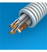 Preflex - 25MM met 2XUTP datakabel categorie 6+PVC 6 binnenkabel coax per 100M - 1234001503