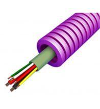 Preflex - 16MM avec câble alarm+ alimentation 4X0,22+2X0,75 low smoke par 100M - 1234001184