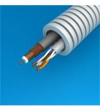 Preflex - 20MM met coax telenet/voo goedgekeurde binnenkabel + datakabel utp categorie 6 per 100M - 1234001466