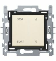 Niko - Interrupteur pour volets cream bornes a connexion - 100-65908